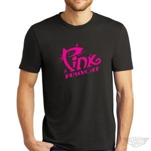 DogDayz Apparel - Tee - Pink Pussycat - Men - Black