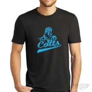 DogDayz Apparel - Tee - Richland Colts - Men - Black