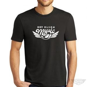 DogDayz Apparel - Tee - Roy Olson Music - Men - Black