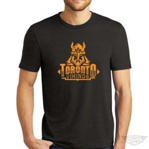 DogDayz Apparel - Tee - Toronto Vikings - Men - Black