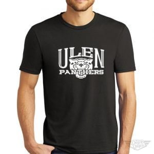 DogDayz Apparel - Tee - Ulen Panthers - Men - Black