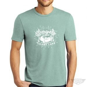 DogDayz Apparel - Tee Lulaby Evergreen- Men - Dusty Sage