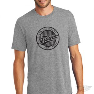 DogDayz Apparel - Tee - Clifford Twins - Men - Heather Grey