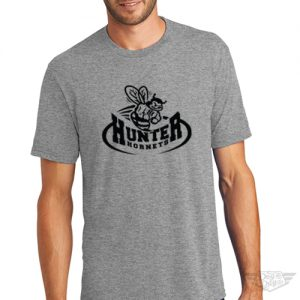 DogDayz Apparel - Tee - Hunter Hornets - Men - Heather Grey