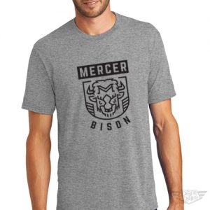 DogDayz Apparel - Tee - Mercer Bison - Men - Heather Grey