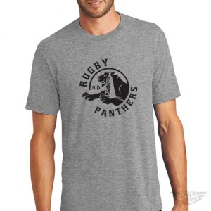 DogDayz Apparel - Tee - Rugby Panthers - Men - Heather Grey
