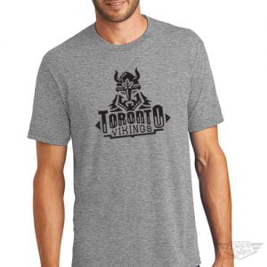 DogDayz Apparel - Tee - Toronto Vikings - Men - Heather Grey