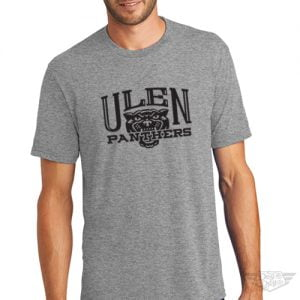 DogDayz Apparel - Tee - Ulen Panthers - Men - Heather Grey