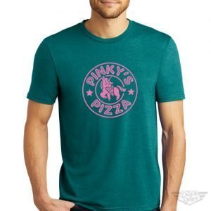 DogDayz Apparel - Tee - Pinkys Pizza - Men - Heather Teal