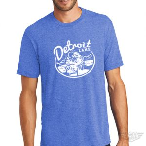 DogDayz Apparel - Tee Detroit Lake - Men - Royal Frost