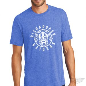 DogDayz Apparel - Tee - Richardson Raiders - Men - Royal Frost