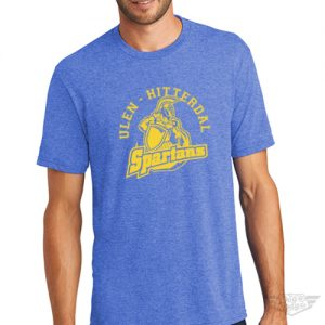 DogDayz Apparel - Tee - Ulen Hitterdal Spartans - Men - Royal Frost