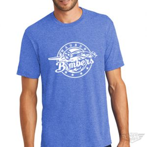 DogDayz Apparel - Tee - Waubun Bombers - Men - Royal Frost