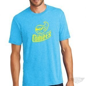DogDayz Apparel - Tee - Erskine Comets - Men - Turquoise Frost