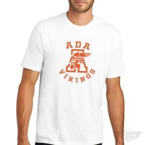 DogDayz Apparel - Tee - Ada Vikings - Men - White