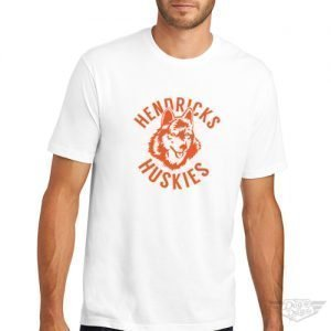 DogDayz Apparel - Tee - Hendricks Huskies - Men - White