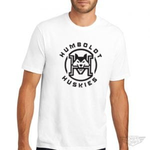 DogDayz Apparel - Tee - Humboldt Huskies - Men - White