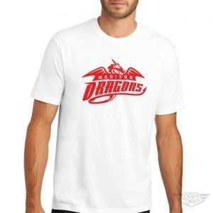DogDayz Apparel - Tee - Madison Dragons - Men - White