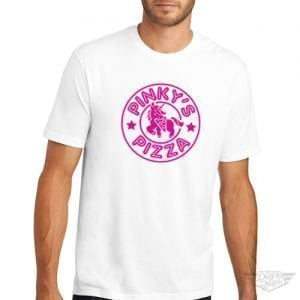 DogDayz Apparel - Tee - Pinkys Pizza - Men - White
