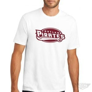 DogDayz Apparel - Tee - Portland Pirates - Men - White