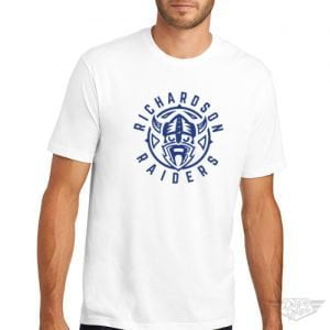 DogDayz Apparel - Tee - Richardson Raiders - Men - White
