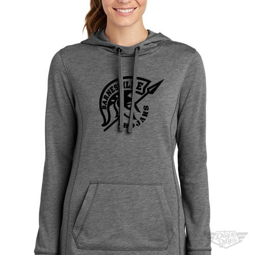 DogDayz Apparel - Sweatshirt - Barnesville Trojans - Women - Heather Grey