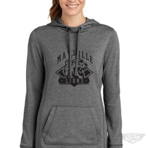 DogDayz Apparel - Sweatshirt - Mayville Lions - Women - Heather Grey
