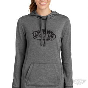 DogDayz Apparel - Sweatshirt - Portland Pirates - Women - Heather Grey
