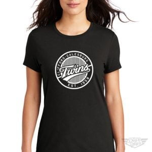 DogDayz Apparel - Tee - Clifford Twins - Women - Black