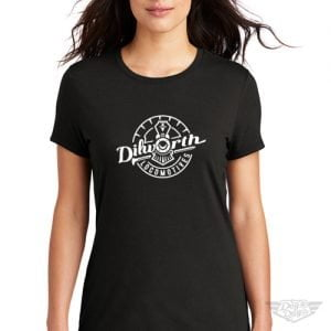 DogDayz Apparel - Tee - Dilworth Locomotives - Women - Black