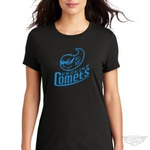 DogDayz Apparel - Tee - Erskine Comets - Women- Black