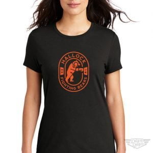 DogDayz Apparel - Tee - Hallock Fighting Bears - Women - Black
