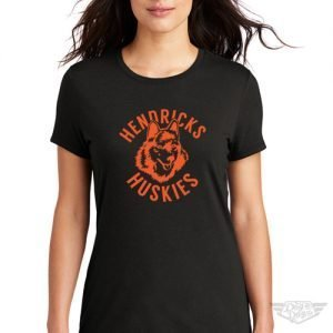 DogDayz Apparel - Tee - Hendricks Huskies - Women - Black