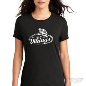 DogDayz Apparel - Tee - Hitterdal Vikings - Women - Black