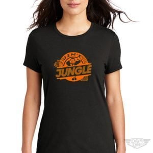 DogDayz Apparel - Tee -Jims Jungle - Women - Black