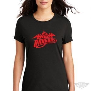 DogDayz Apparel - Tee - Madison Dragons - Women - Black