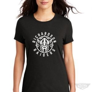 DogDayz Apparel - Tee - Richardson Raiders - Women - Black