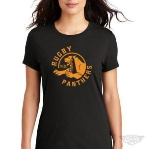DogDayz Apparel - Tee - Rugby Panthers - Women - Black