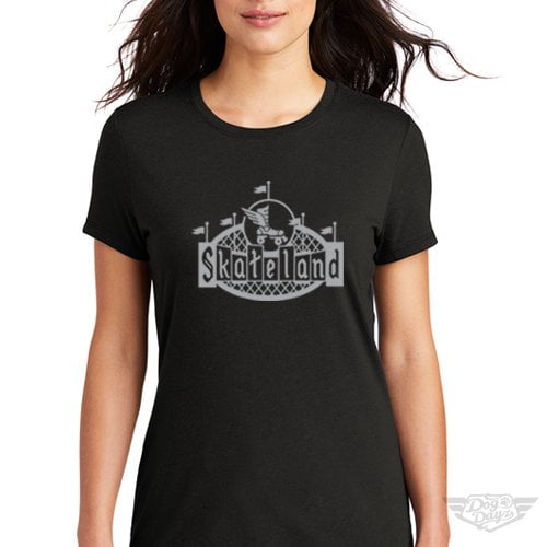 DogDayz Apparel - Tee -Skateland - Women - Black