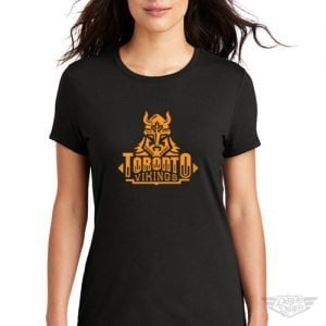 DogDayz Apparel - Tee - Toronto Vikings - Women - Black