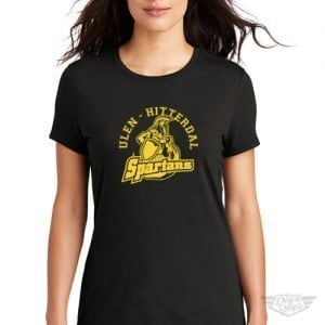DogDayz Apparel - Tee - Ulen Hitterdal Spartans - Women - Black