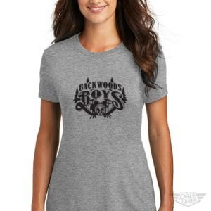 DogDayz Apparel - Tee -Backwood Boys - Women - Heather Grey