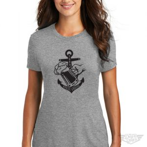 DogDayz Apparel - Tee -Booze Cruise - Women - Heather Grey