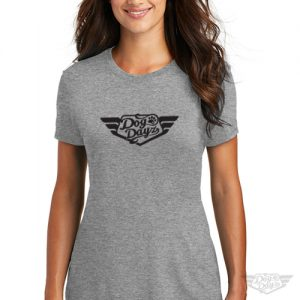 DogDayz Apparel - Tee - DogDayz - Women - Heather Grey