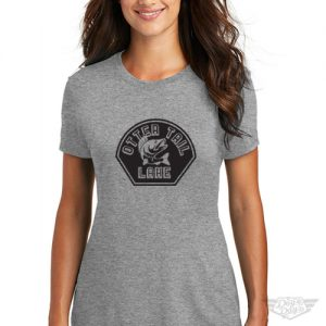DogDayz Apparel - Tee Otter Tail - Women - Heather Grey