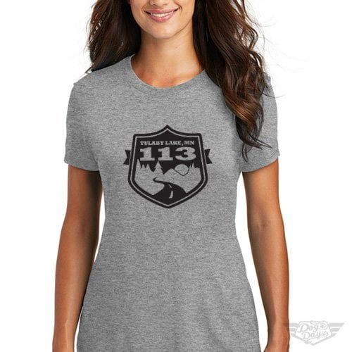 DogDayz Apparel - Tee Tulaby 113 - Women - Heather Grey