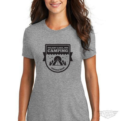 DogDayz Apparel - Tee Lulaby - Women - Heather Grey