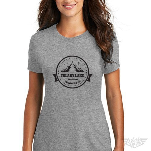 DogDayz Apparel - Tee Tulaby - Women - Heather Grey