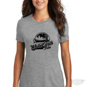 DogDayz Apparel - Tee White Earth - Women - Heather Grey