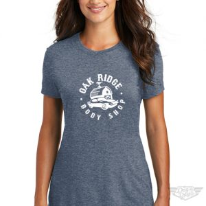 DogDayz Apparel - Tee -Oak Ridge Boy Shop - Women - Navy Frost